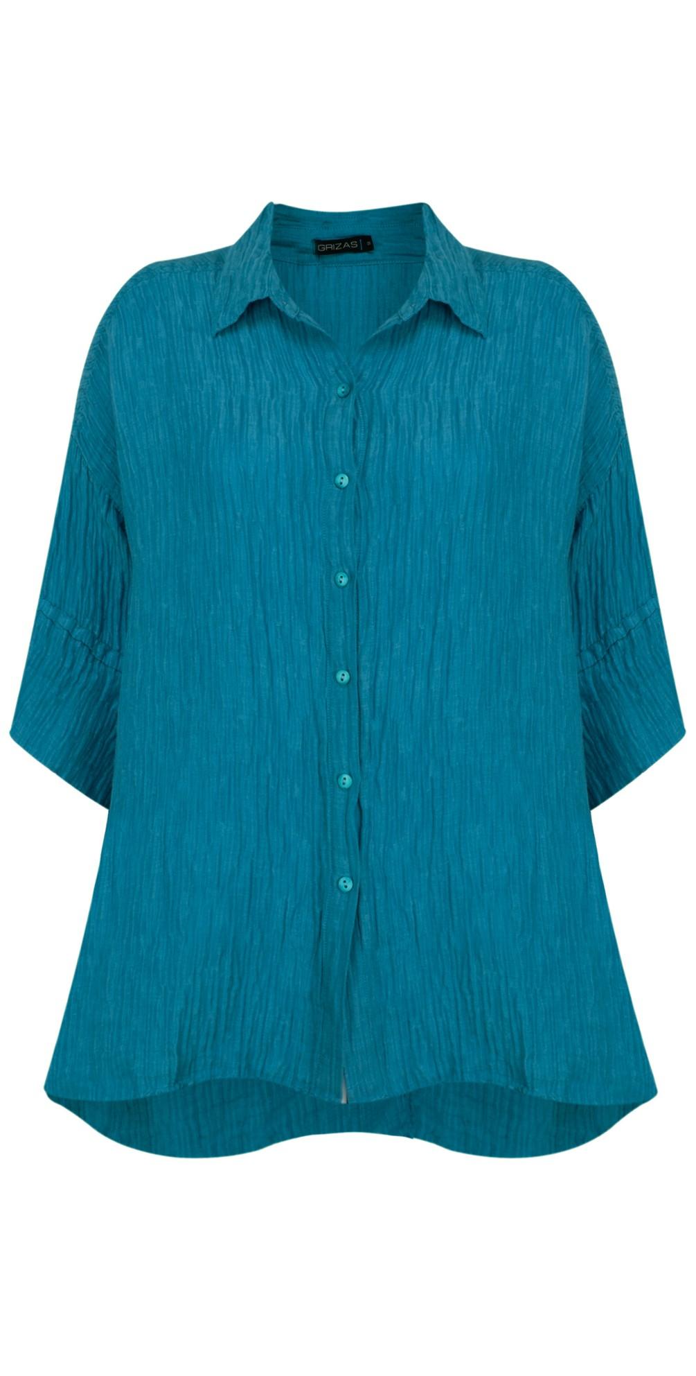 Urte Crinkle Linen Shirt main image