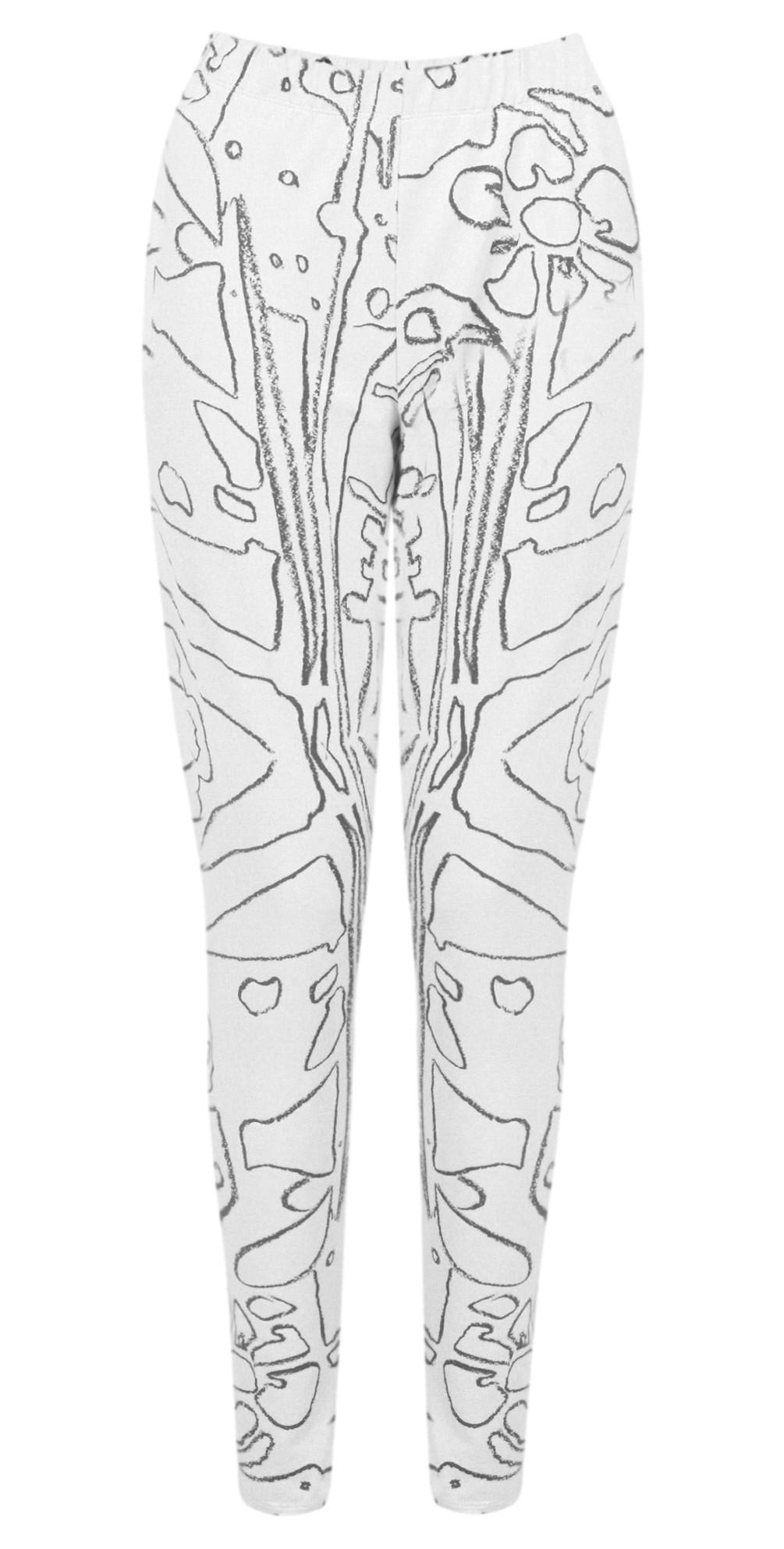 Elina Printed Jersey Leggings main image