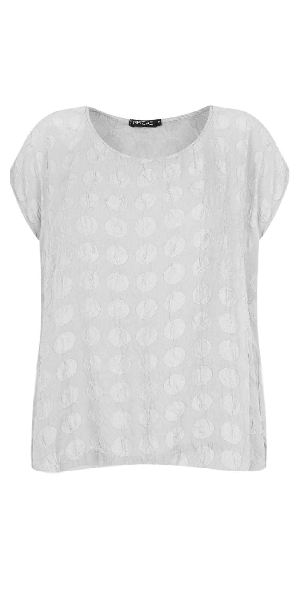 Tina Silk Spot T-Shirt main image