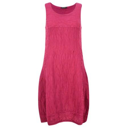 Grizas Domi Solid Crinkle Dress - Purple
