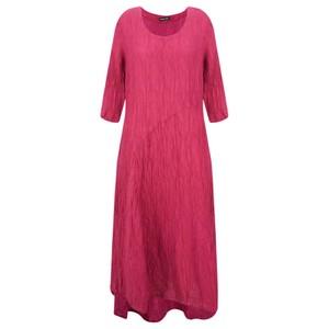 Grizas Erna Solid Crinkle Dress