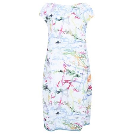 Grizas Nirele Printed Linen Dress - Multicoloured