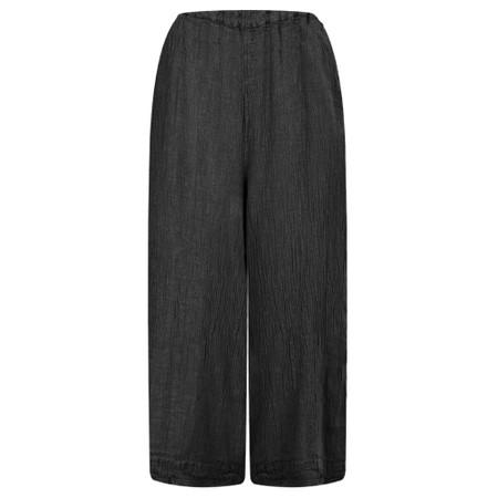 Grizas Juste Linen Culottes - Black