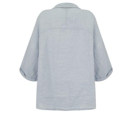 Fenella  Iris EasyFit Shirt with Pocket - Blue