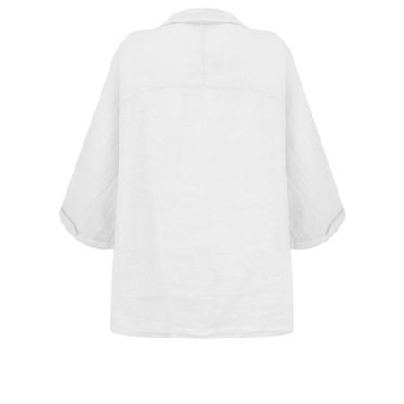Fenella  Iris EasyFit Shirt with Pocket - White