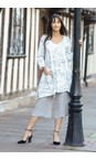 Grizas Cool Taupe Juste Linen Culottes