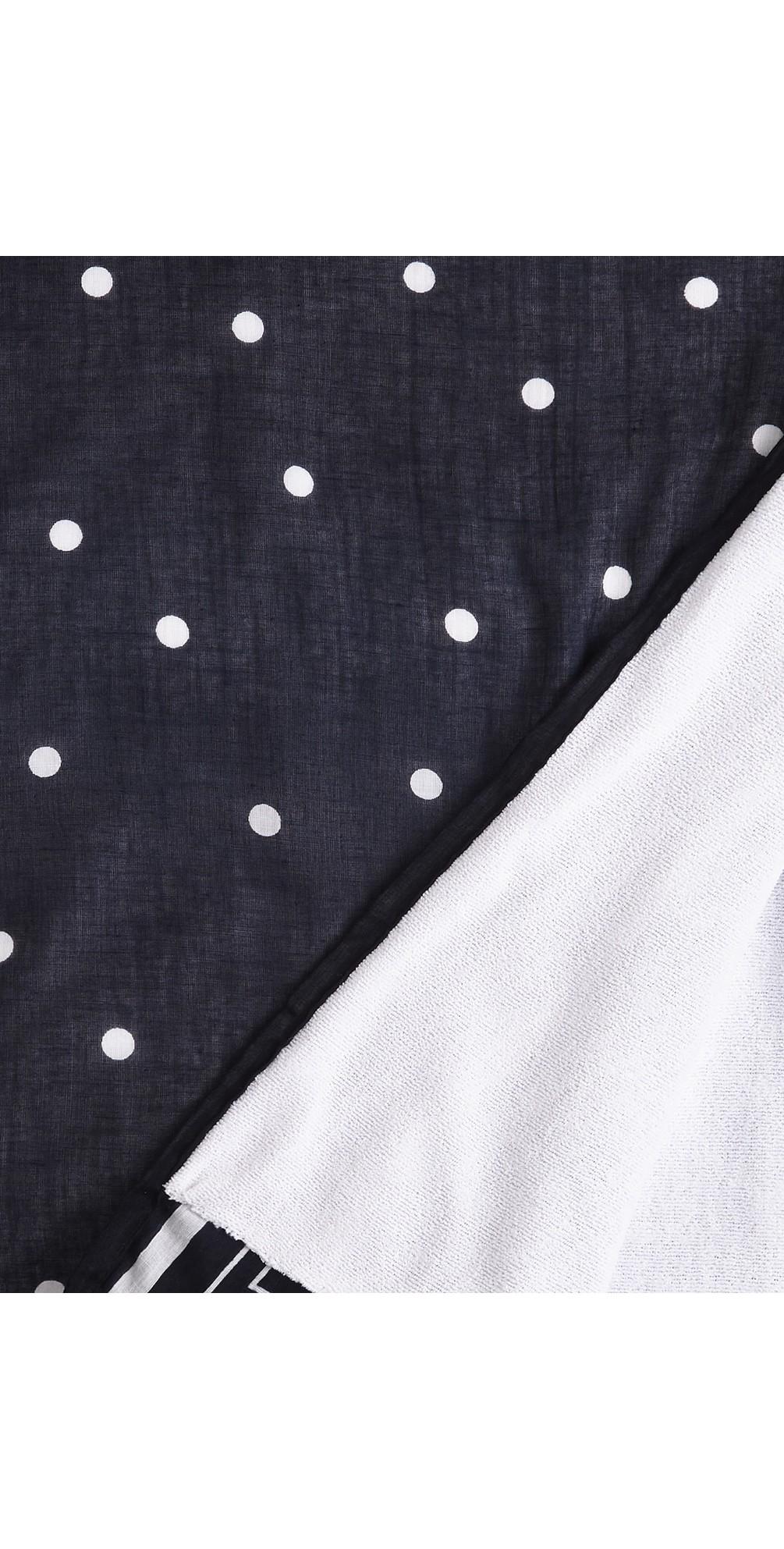 Stripe Spot Print Towel main image
