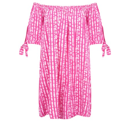 Aisling Dreams Lokho Print Lorri EasyFit Tunic Dress - Pink