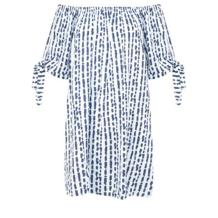 Aisling Dreams Lokho Print Lorri EasyFit Tunic Dress - White