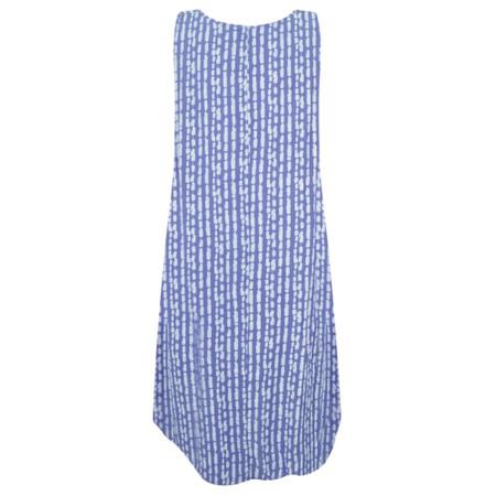 Aisling Dreams Lokho Print Luna Oversized Sundress - Blue