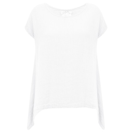 Grizas Jola Linen Top - White