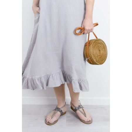 INUOVO Grace Flat Sandal - Blue