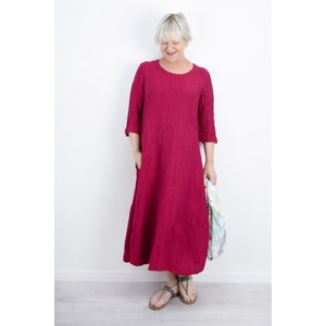 Grizas Erna Solid Crinkle Dress