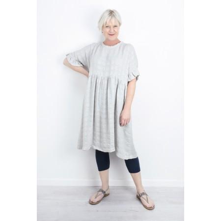 Grizas Marija Frill Sleeve Dress - Beige