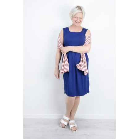 Masai Clothing Hadas Tunic Dress - Blue