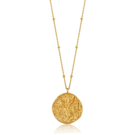 Ania Haie Greek Warrior Necklace - Gold