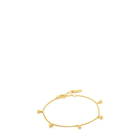 Ania Haie Orbit Drop Balls Bracelet - Gold
