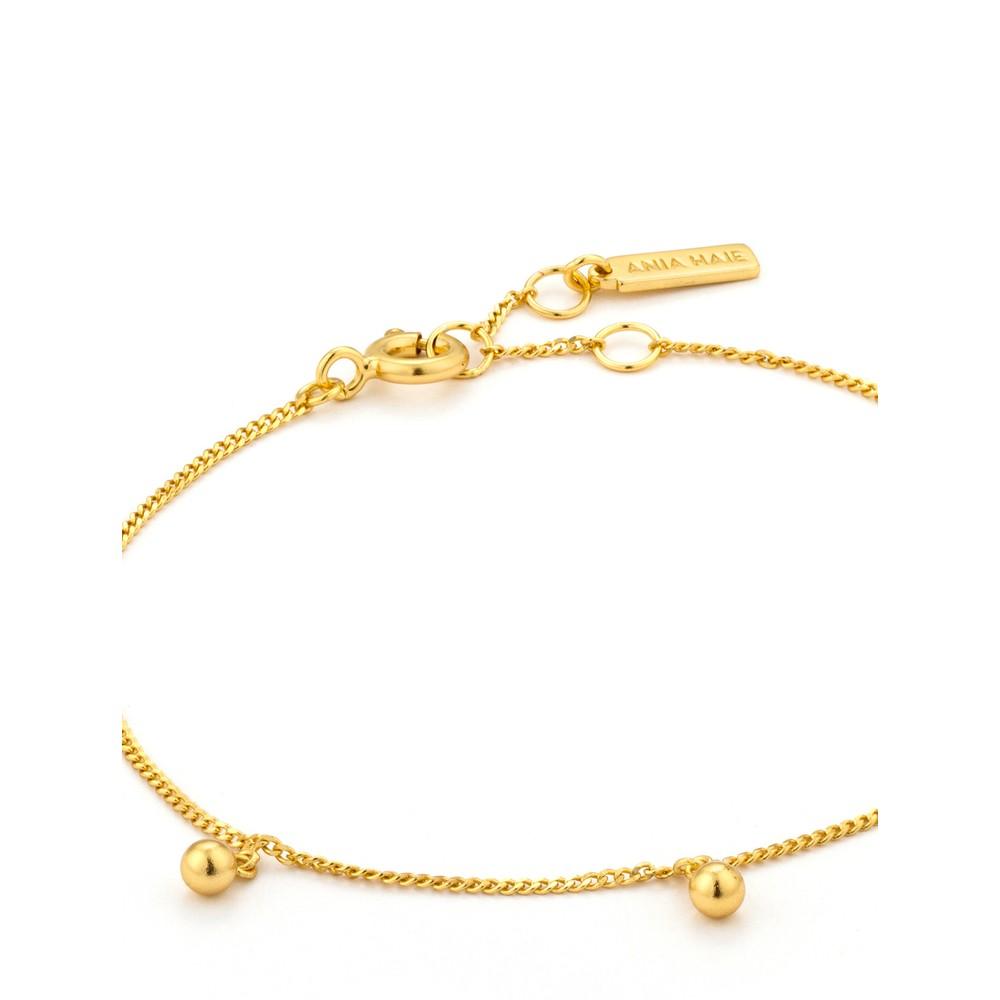 Ania Haie Orbit Drop Balls Bracelet Gold