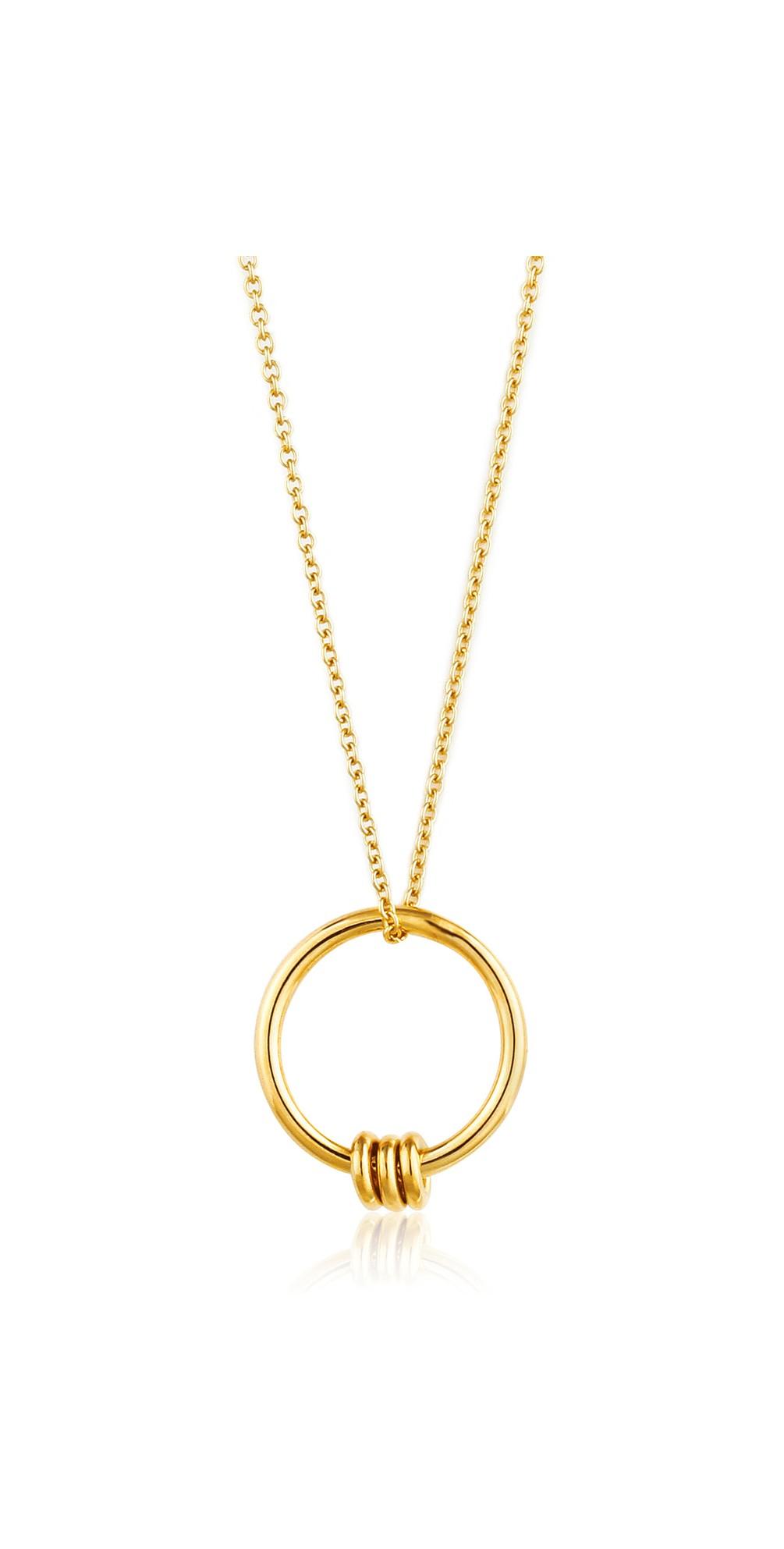 Modern Circle Necklace main image