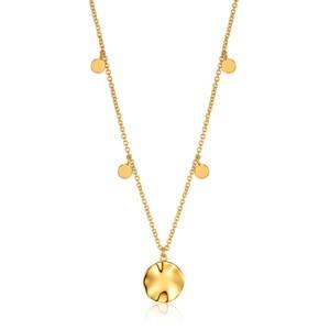 Ania Haie Ripple Drop Discs Necklace