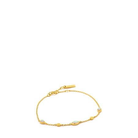 Ania Haie Opal Colour Bracelet - Gold