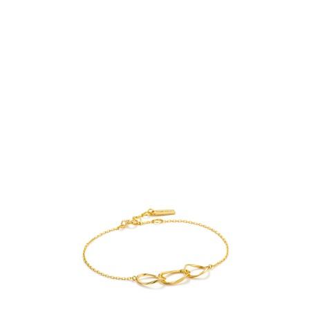 Ania Haie Swirl Nexus Bracelet - Gold