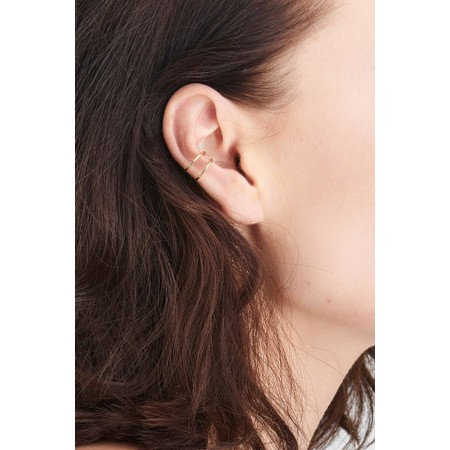 Ania Haie Modern Ear Cuff - Gold