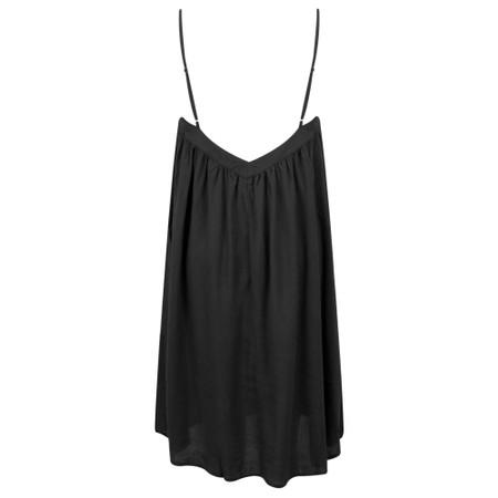 Lara Ethnics Melanie Summer Crepe Strappy Dress - Black