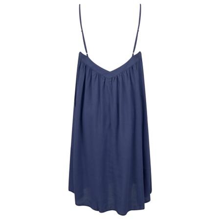 Lara Ethnics Melanie Summer Crepe Strappy Dress - Blue