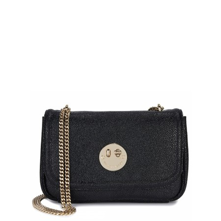Hill & Friends Happy Cross Body Chain Bag - Black