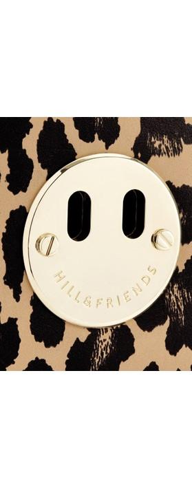 Hill & Friends Happy Mini Camera Bag Natural Leopard