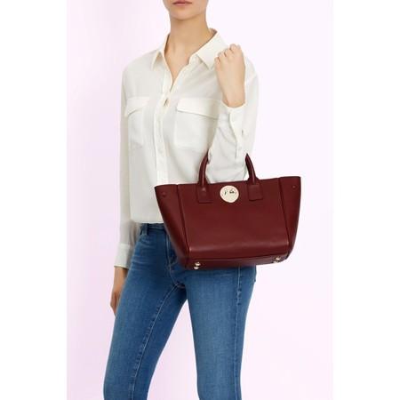 Hill & Friends Happy Mini Tote Bag - Red