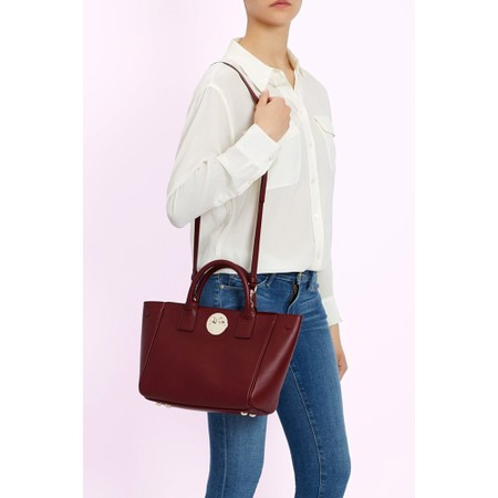 Hill & Friends Happy Mini Tote Bag - Red