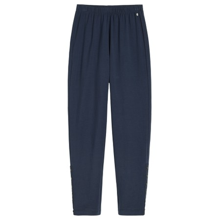 Sandwich Clothing Cropped Jersey Leggings - Blue