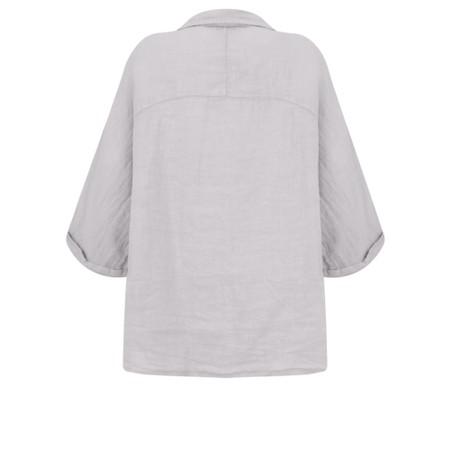 Fenella  Iris EasyFit Shirt with Pocket - Metallic