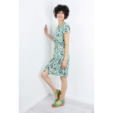 Sandwich Clothing Abstract Print Dress - Green