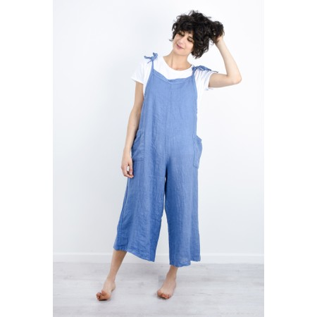 TOC  Danica Linen Jumpsuit - Blue