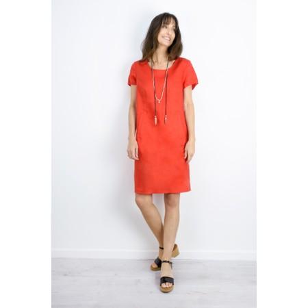 Masai Clothing Nabla Linen Dress  - Pink