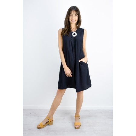 Masai Clothing Harper Tunic Dress - Blue