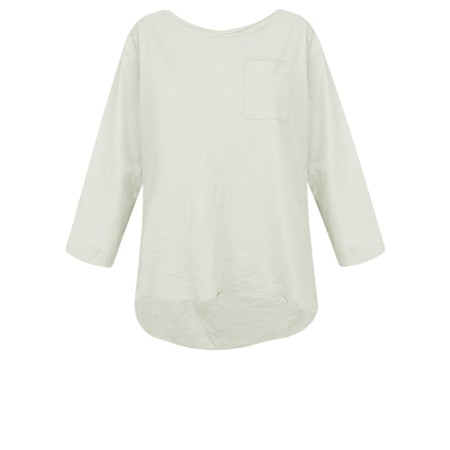 Aisling Dreams Astrid Pocket Top - Grey