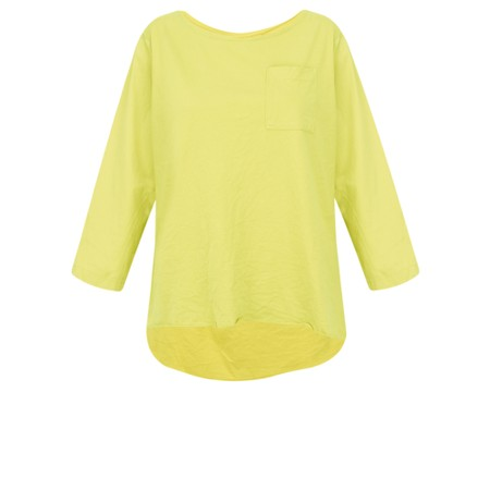 Aisling Dreams Astrid Pocket Top - Yellow