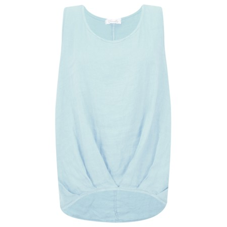 Fenella  Camille Easyfit Shell Top - Blue