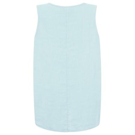 Fenella  Camille Easyfit Shell Top - Blue