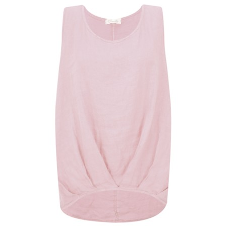 Fenella  Camille Easyfit Shell Top - Pink