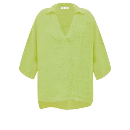 Fenella  Iris EasyFit Shirt with Pocket - Green