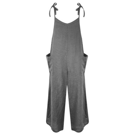TOC  Danica Linen Jumpsuit - Black
