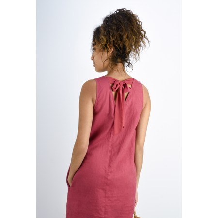 Great Plains Dana Linen Dress - Red