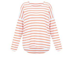 Gemini Label Clothing Ruth Cotton Stripe Top