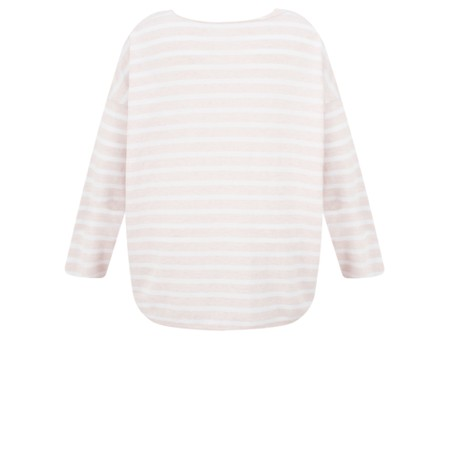Gemini Label  Ruth Cotton Stripe Top - Pink