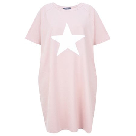 Chalk Linda Star Dress - Pink